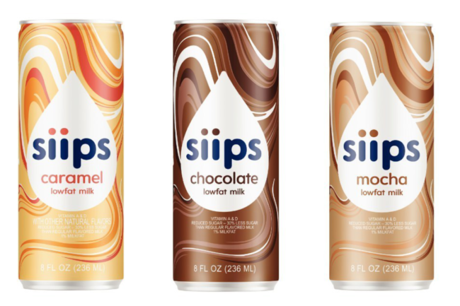siips canned milks from Kemps