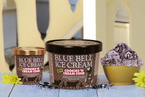 Bluebell cookies n cream cone