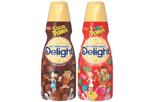 International Delight Pebbles creamers