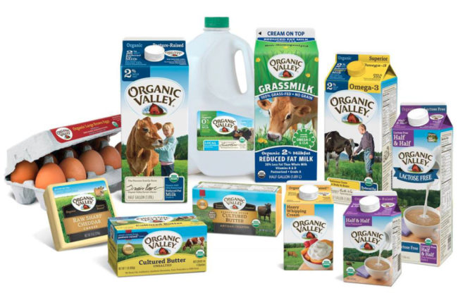 Organic Valley products