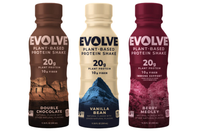 Evolve ready-to-drink protein shakes