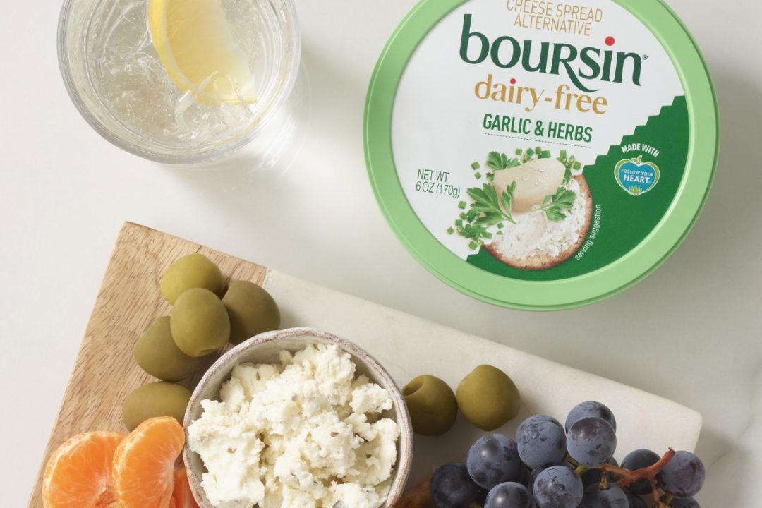 Boursin Dairy-Free Cheese Spread Alternative Garlic & Herbs