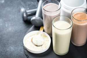 Dairy proteins lead