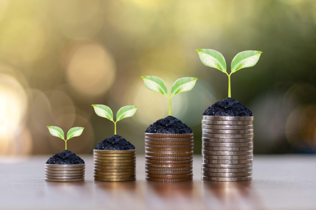 Investment funding concept