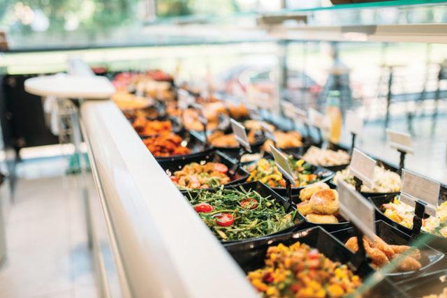 Supermarketbuffet lead