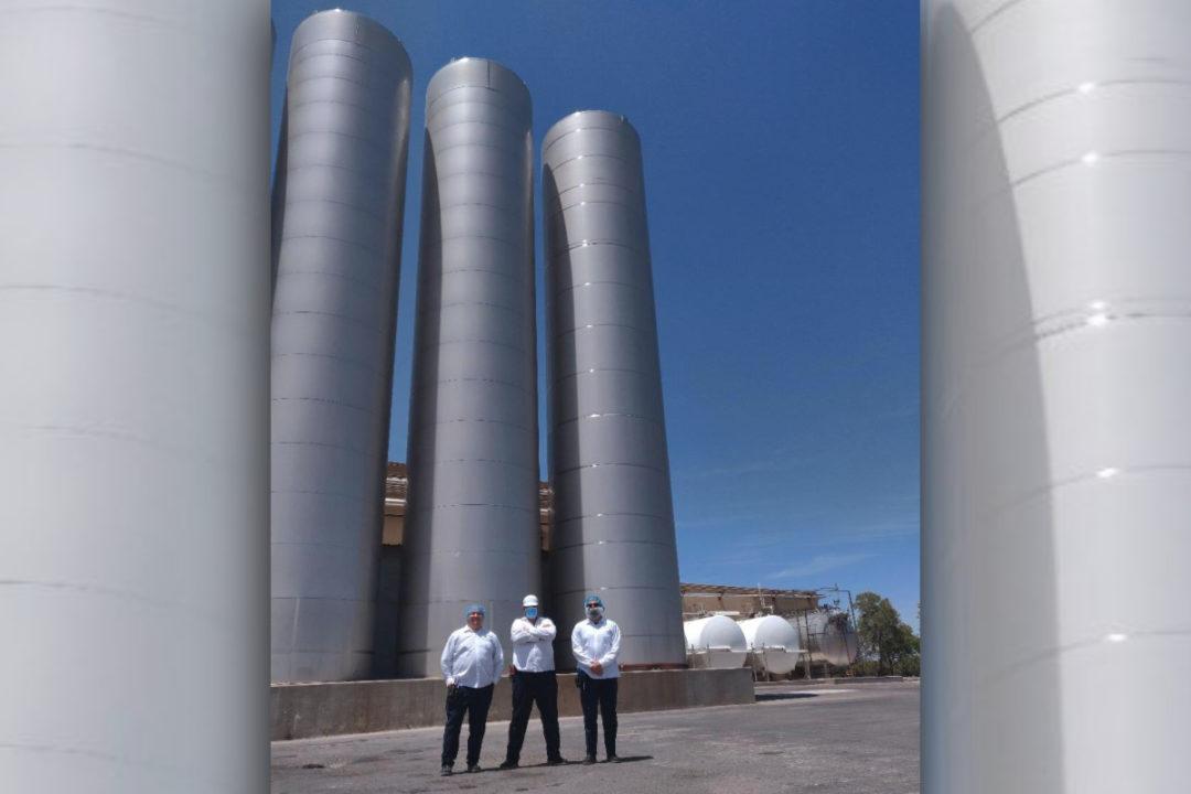 Saputo cheese manufacturing plant in Las Cruces, NM